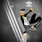 This one was created for the Adidas Fingerpaint contest on DA. Very fun and experimental. Created in Illustrator and Photoshop.   donavon brutus donovan brutus donovon brutus donavonmadethat donovanmadethat donavon made that