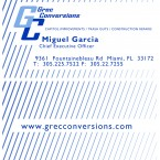Front at back of a business card for a local conversion company. Designed in Illustrator.   donavon brutus donovan brutus donovon brutus donavonmadethat donovanmadethat donavon made that