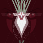 The Forest Spirit from Princess Mononoke